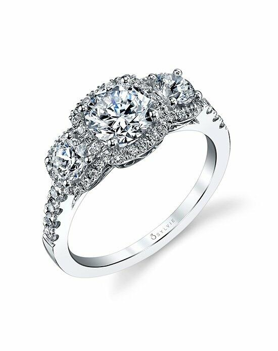 Sylvie Collection S1165S Engagement Ring photo