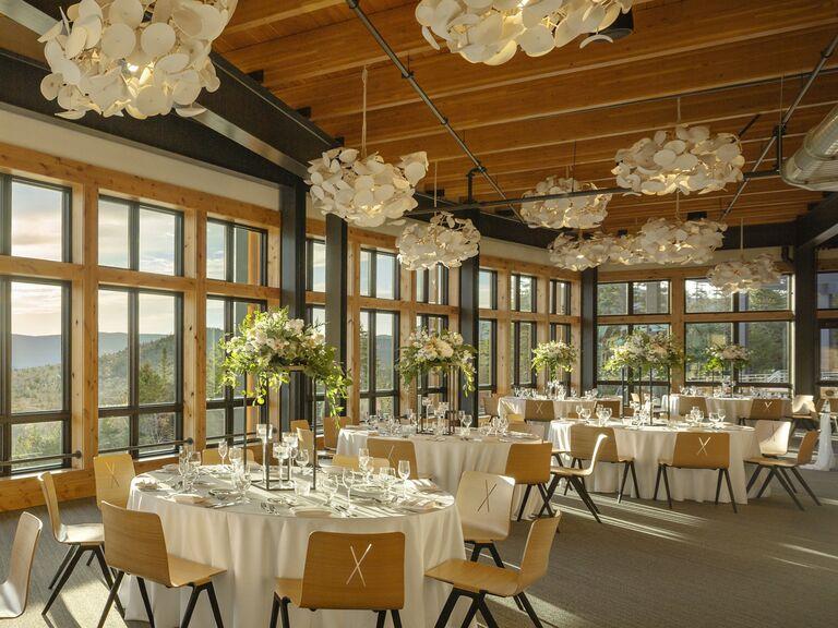 Mountain wedding venue in Bretton Woods, New Hampshire.