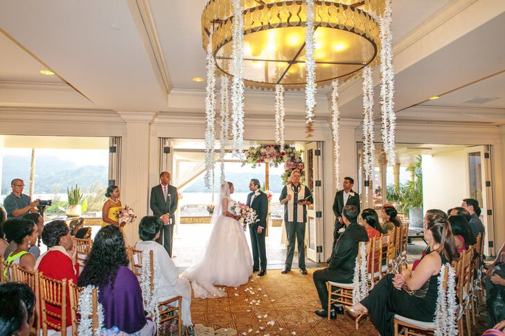 Western Ceremony at The St. Regis Princeville Resort in Hawaii