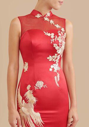 East Meets Dress Chanel Bespoke Dress Mermaid Wedding Dress