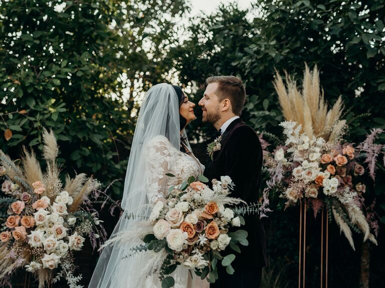 Fall wedding ideas pastels