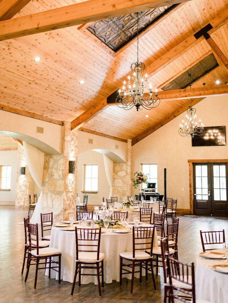 Texas Hill Country wedding venue in Magnolia, Texas.