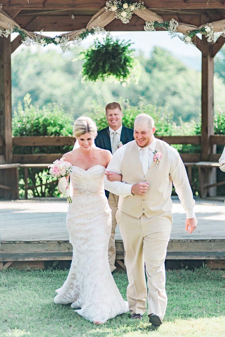 Boxtree Lodge Wedding Ceremony Recessional