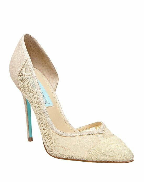 Blue by Betsey Johnson SB-GRACE - CHAMPAGNE Wedding Shoes photo