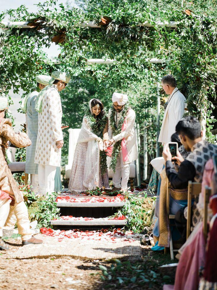 Hindu Wedding Ceremony at the Ritz-Carlton Bachelor Gulch in Avon, Colorado
