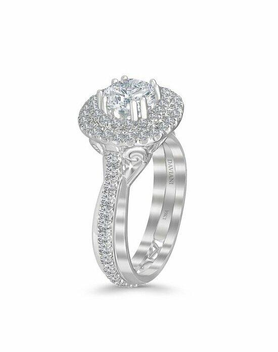 Daviani Love Links Collection DCR1106 Engagement Ring photo
