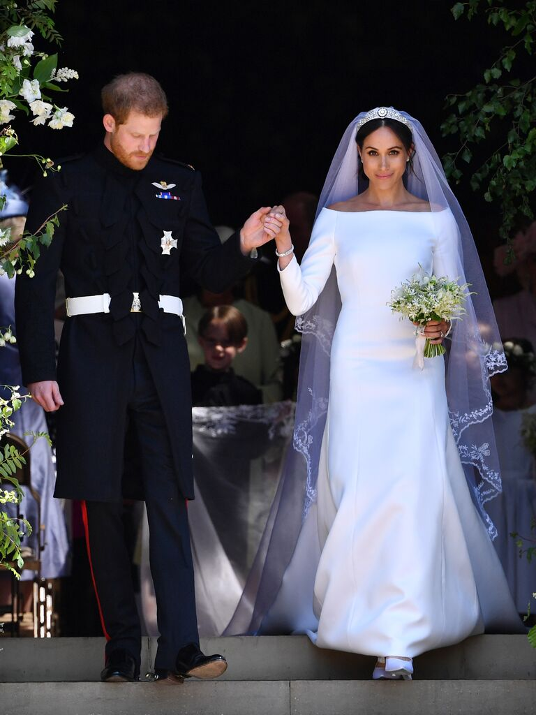 Meghan Markle wedding dress royal wedding with Prince Harry