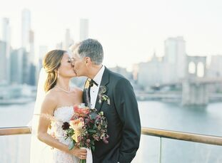 After Michael (Mike) Haddad (56 and a deputy chief information officer) proposed to Anna Chung (42 and cofounder of a yoga studio) in Brooklyn Bridge