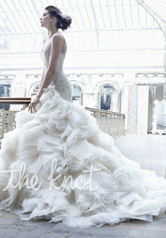 Lazaro 3253 wedding dress the knot for Wedding dresses the knot