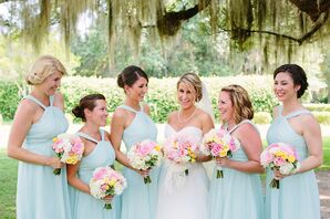 Spring Mint and Blush Color Palette