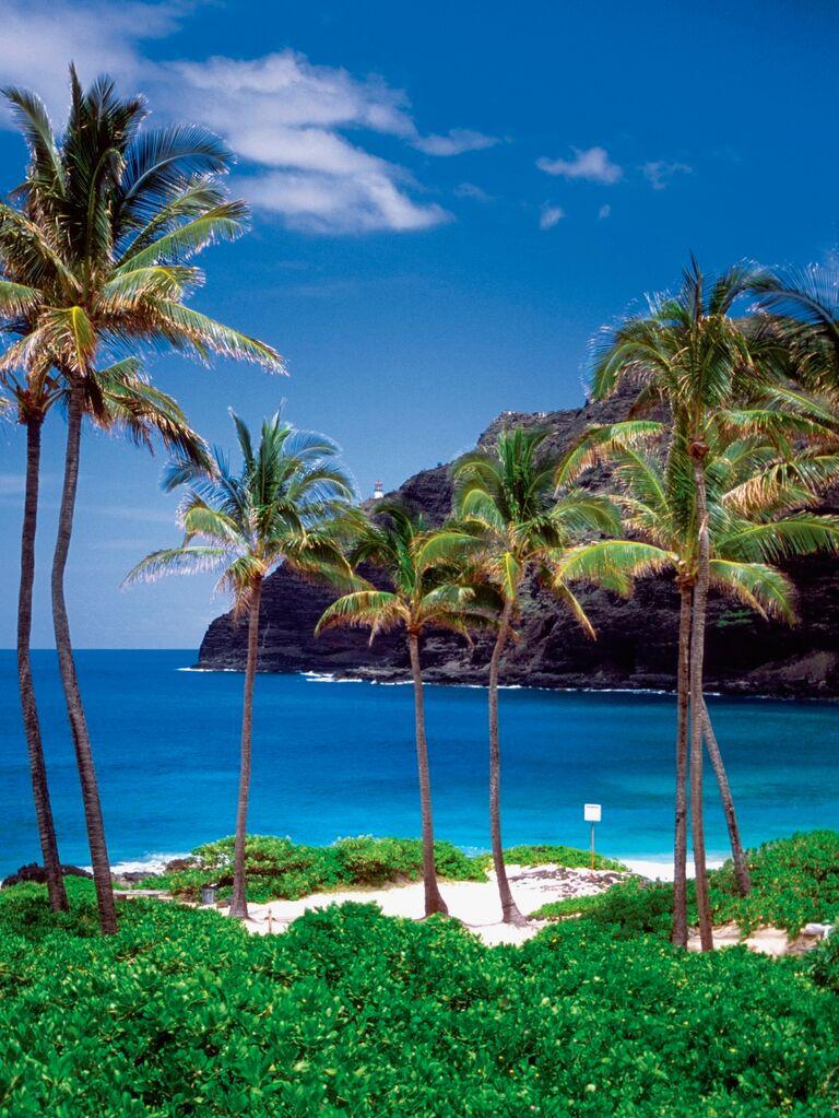 US wedding destination Oahu, Hawaii