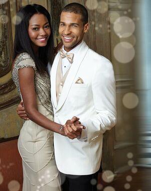 BLACKTIE HAMILTON Ivory Wedding Tuxedo Ivory Tuxedo