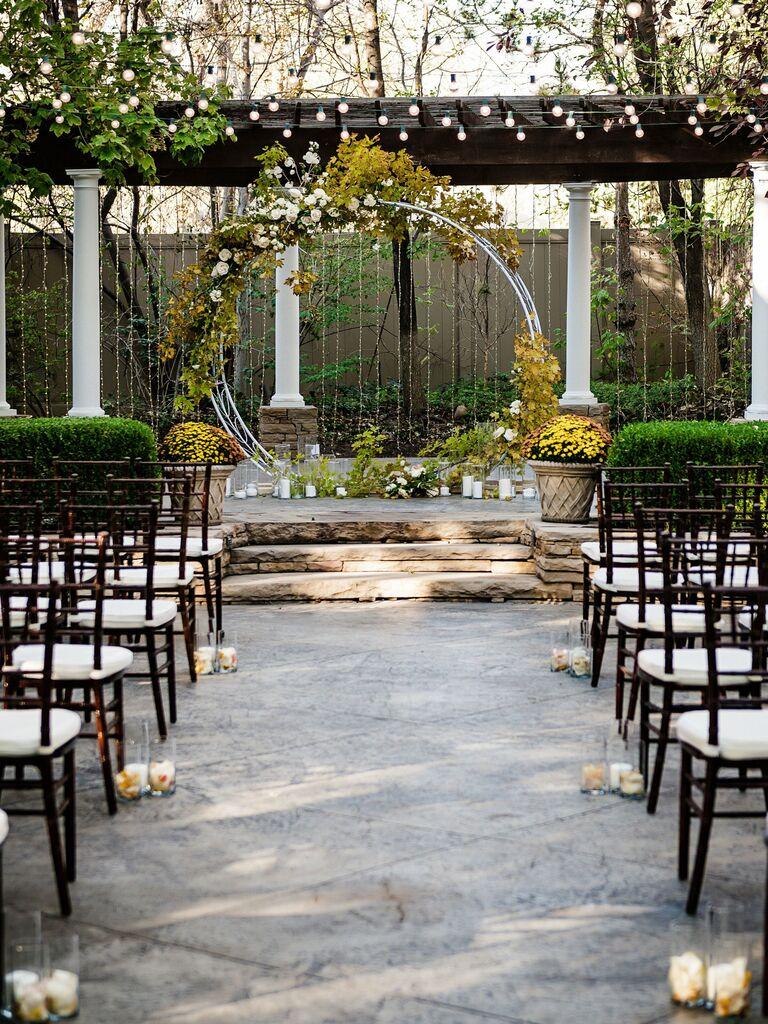 Wedding venue in Bountiful, Utah.