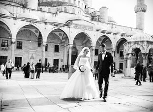 Liana Abdullina (25 and a physician) and Ruslan Safarov (30 and a physician) had planned their destination wedding to Turkey for months. They chose Is
