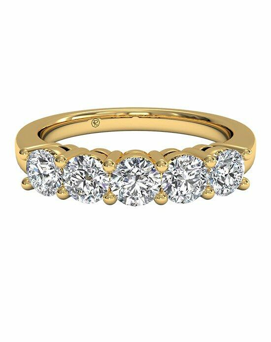 Ritani Women's Five-Stone Diamond Wedding Band in 18kt Yellow Gold (0.75 CTW) Wedding Ring photo