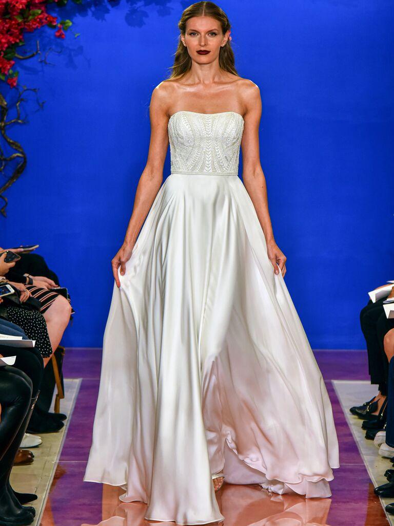theia wedding dress ballgown