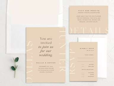 Your Guide on Assembling Wedding Invitations