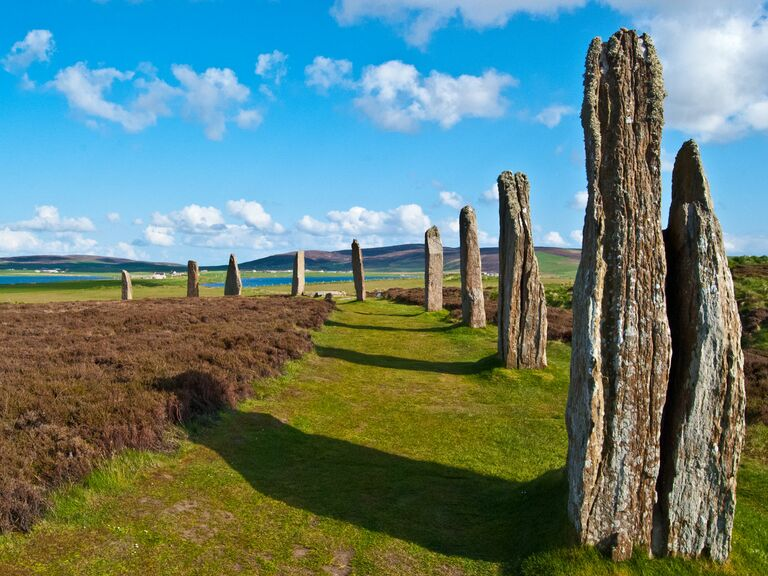 Orkney scotland stones