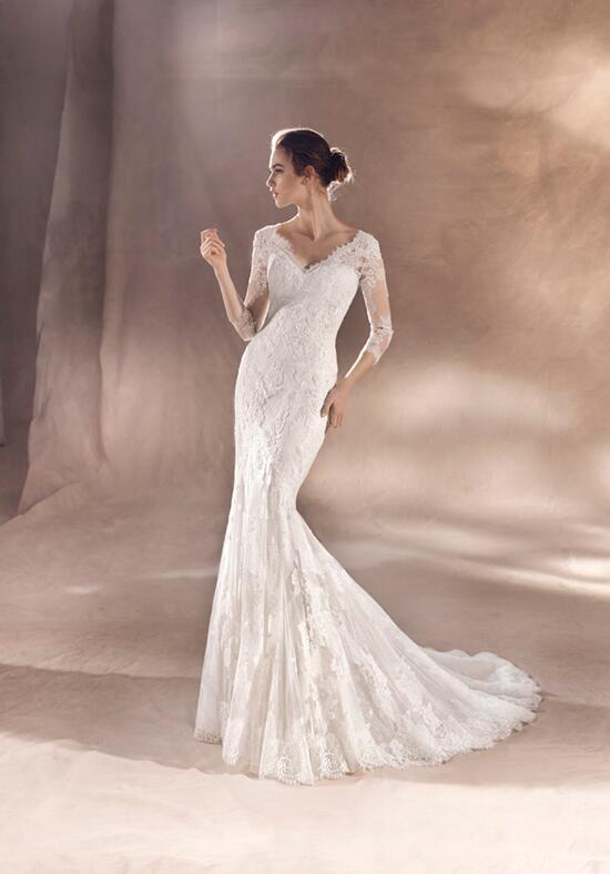 WHITE ONE SAYDE Wedding Dress photo