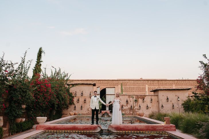 The Kasbah-style hotel features olive trees, two pools, a Hamman, open-air riad and mini souk.