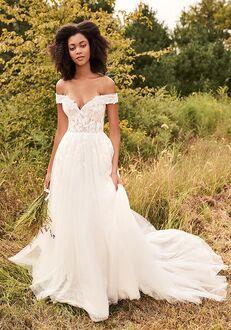 Lillian West 66196 A-Line Wedding Dress