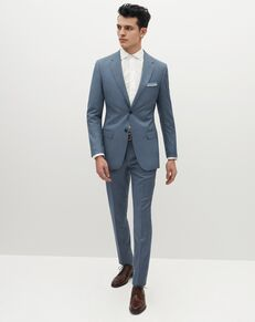 Suit Shop Men's Light Blue Suit Blue Tuxedo