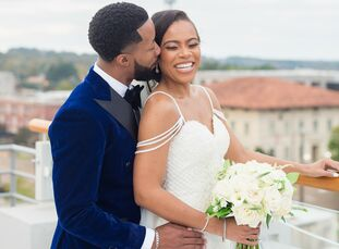 Every part of Joslyn and Ronnie's wedding at The Faulkner in Jackson, Mississippi, was filled with meaning from the wedding date, November 7th, to the