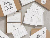 Stationery date night gift box