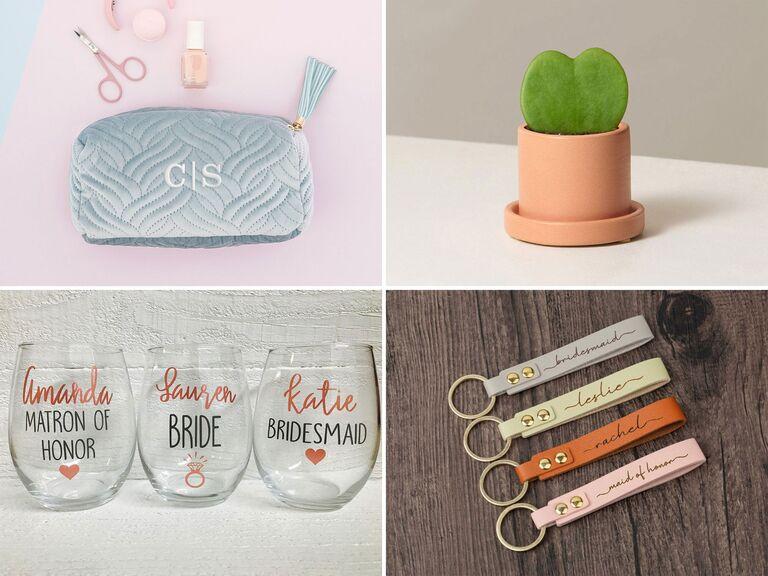 Affordable bridesmaid gifts