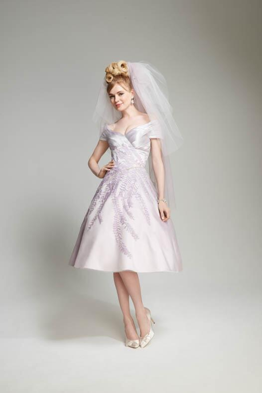 Matthew Christopher Wisteria Wedding Dress photo