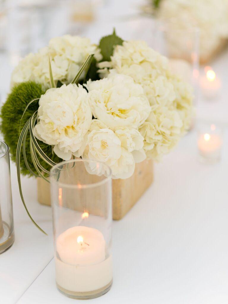 Wedding Centerpieces Moss