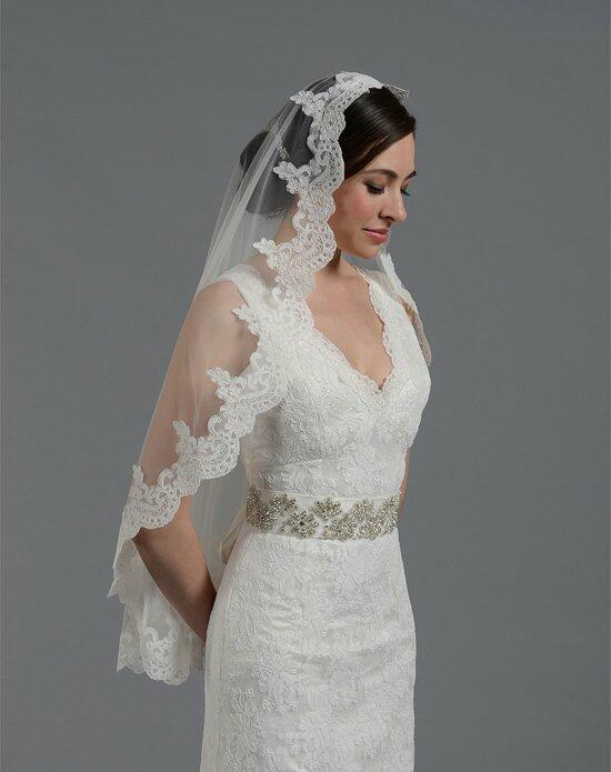 Tulip Bridal Lace Mantilla Veil-V032n Wedding Veils photo