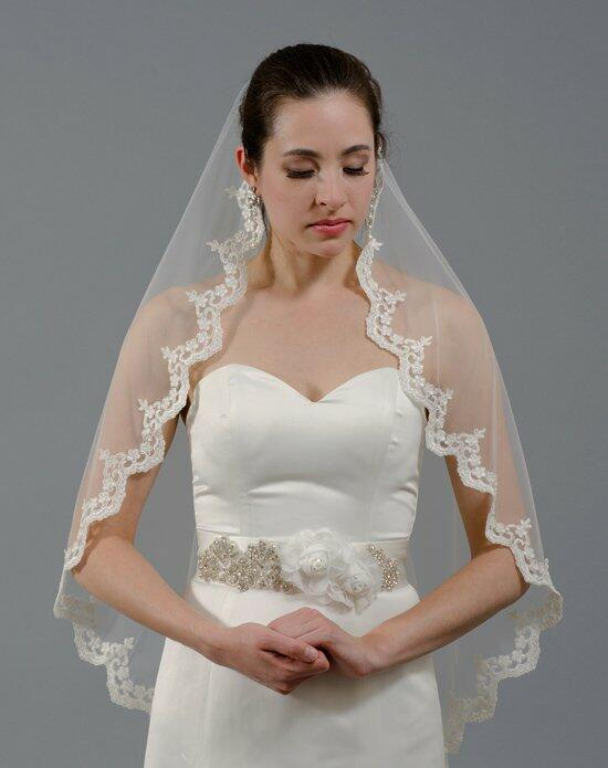 Tulip Bridal Lace Mantilla Veil-V040 Wedding Veils photo