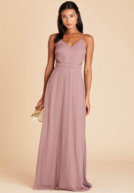Birdy Grey Lin Dress in Dark Mauve Sweetheart Bridesmaid Dress