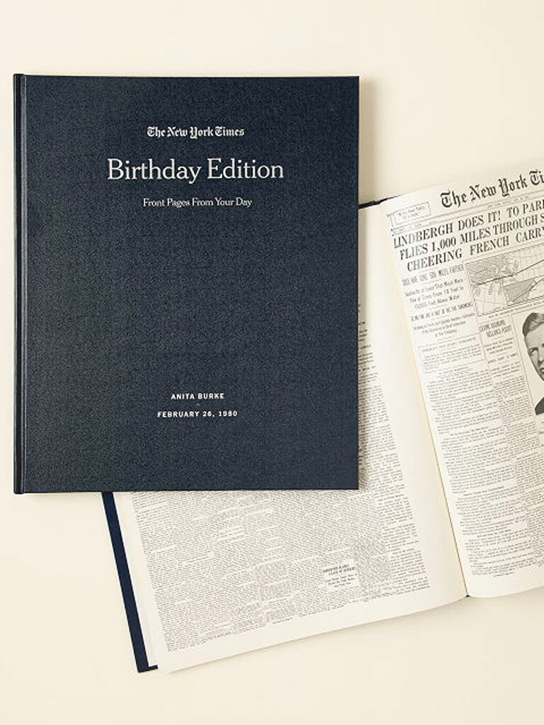 nyt front pages book