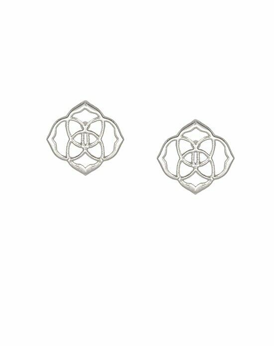 Kendra Scott Dira Stud Earrings in Silver Wedding Earrings photo