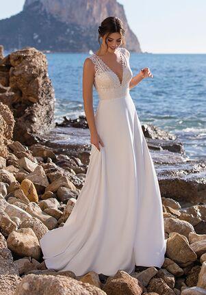 WHITE ONE ESSENTIALS VINIE A-Line Wedding Dress