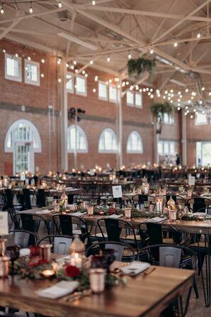 Industrial Wedding Reception at BRICK in San Diego, California