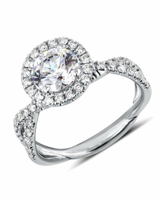 Uneek Fine Jewelry SM818RD-6.5RD Engagement Ring photo