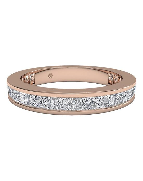 Ritani Women's Channel-Set Princess Diamond Eternity Band in 18kt Rose Gold (1.25 CTW) Wedding Ring photo