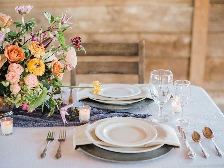 Wedding venue in Hedley, Texas.