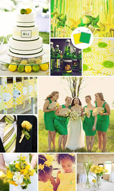 20 Crazy Color Combos That Actually Work By Theknot Com,Mint Green Peach Color Combination Dresses
