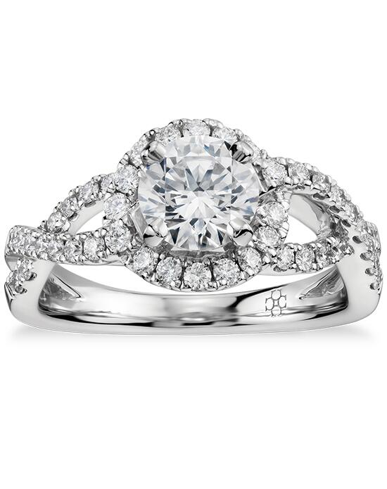 Colin Cowie  Infinity Halo Diamond Engagement Ring  Engagement Ring photo