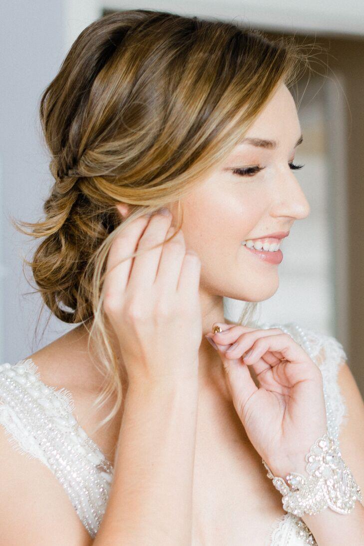 Romantic Braided Bridal Updo