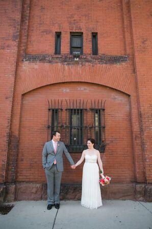 Catherine Deane Strapless Wedding Dress