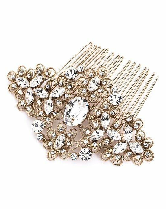 USABride Vintage Filigree Gold Comb TC-2241-G Wedding Pins, Combs + Clips photo