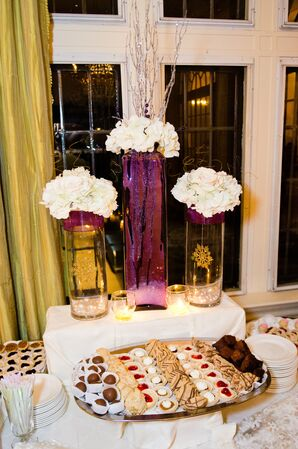 Floral Decorated Cookie Table