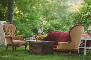Vintage Chair Sitting Area