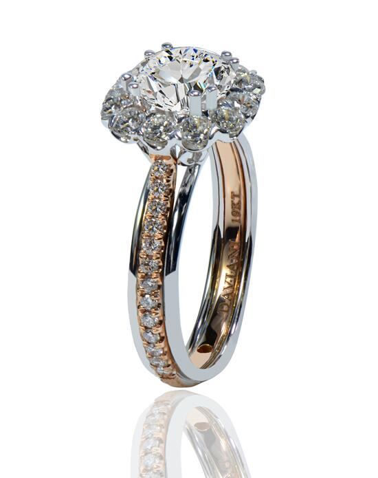 Daviani Love Links Collection DCR1174 Engagement Ring photo