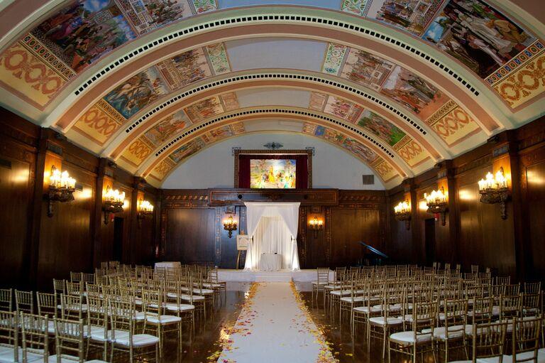 Congress Plaza Hotel wedding venue in Chicago, Illinois.